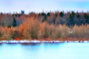 Poconos Art - The Deep Forbidden Lake by Bill Cannon