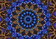Mandala Digital Art - The Deep by Robert Orinski