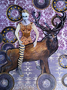 Cogs Mixed Media - The Deerpark Incident by Jeanne Hollington