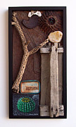 Assemblage Sculpture Originals - The Definition of Clouds by Snake Jagger
