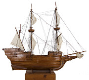18th Century Sculptures - The Deliverance Model Ship by Louis Nanette