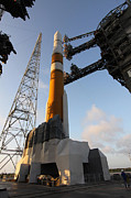 The Delta Iv Rocket That Will Launch Print by Stocktrek Images