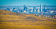 Red Rock Photos - The Denver Skyline II by David Patterson