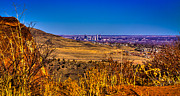 Red Rock Photos - The Denver Skyline III by David Patterson