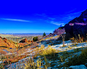 Red Rock Photos - The Denver Skyline IV by David Patterson
