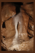 Caverns Mixed Media - The Depths Of Nature by Debra     Vatalaro