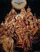 Dino Muradian Pyrography - The Descent of the Holy Spirit by Dino Muradian