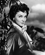 1950s Hairstyles Prints - The Desert Song, Kathryn Grayson, 1953 Print by Everett