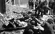 Jt History Photos - The Destruction Of The Warsaw Ghetto by Everett