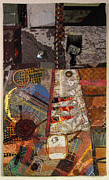 Neighborhood Tapestries - Textiles Posters - The Detritus of Working Class Lives Poster by Martha Ressler