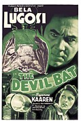 Horror Movies Photos - The Devil Bat, Bela Lugosi Top, Suzanne by Everett