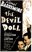 Horror Movies Photos - The Devil Doll, Maureen Osullivan by Everett