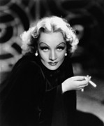 Thd Framed Prints - The Devil Is A Woman, Marlene Dietrich Framed Print by Everett