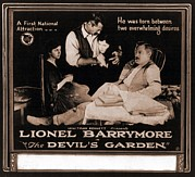Award Framed Prints - The Devils Garden, Lionel Barrymore Framed Print by Everett