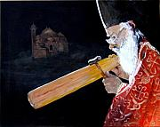 Greek Orthodox Painting Originals - The Devotee by Jane  Simpson