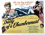 Posth Posters - The Diary Of A Chambermaid, Paulette Poster by Everett