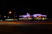 Night Cafe Photo Prints - The Diner at Night Print by Paul Ward