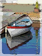 Dinghy Posters - The Dinghy Poster by Tim Allen