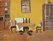 Furniture Originals - The Dining Room - Yellow by Reb Frost