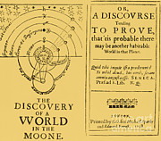 Speculation Framed Prints - The Discovery Of A World In The Moone Framed Print by Science Source