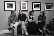 Socialize Prints - The Discussion Print by Jane Brack