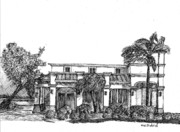 Building Exterior Drawings - The Docs by William Dietrich