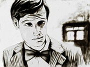 Bbc Drawings Prints - The Doctor Print by Peyton Hartwig