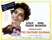 Caron Prints - The Doctors Dilemma, Leslie Caron, Dirk Print by Everett