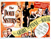 Grable Metal Prints - The Dolly Sisters, Betty Grable, June Metal Print by Everett