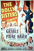 Grable Framed Prints - The Dolly Sisters, John Payne, Betty Framed Print by Everett