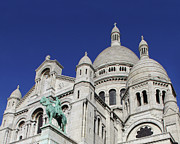 Sacre Coeur Art - The Domes of Sacre Coeur by Tom Reynen
