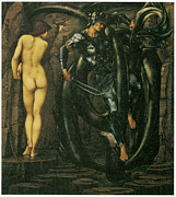Fulfilled Paintings - The Doom fulfilled by Edward Burne-Jones
