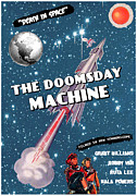 1970s Poster Art Photos - The Doomsday Machine, 1-sheet Poster by Everett