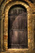 The Door Print by Svetlana Sewell