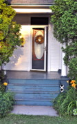 Front Porch Prints - The Doors Always Open Print by Penny Neimiller