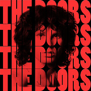 Rock And Roll Bands Framed Prints - The Doors Framed Print by Andrew Fare