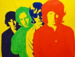 Band Painting Originals - The Doors by Doran Connell