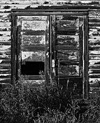 Abandoned Buildings Framed Prints - The Doors Framed Print by Jerry Cordeiro