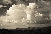 Cloudy Skies Prints - The Drama Print by Laurie Search