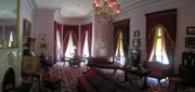 Dundurn Castle Framed Prints - The Drawing Room- Dundurn Castle Framed Print by Larry Simanzik