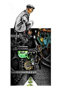 The Dream Machine Print by Spencer Bower
