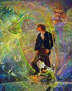 Steve Roberts - The Dreamer-Angel tarot...