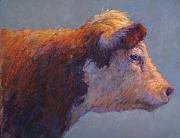 Farm Animals Pastels Prints - The Dreamer Print by Susan Williamson