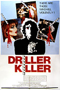 Horror Movies Metal Prints - The Driller Killer, Abel Ferrara, 1979 Metal Print by Everett