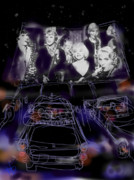 Some Like It Hot Prints - The Drive In Print by Russell Pierce