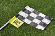 Golf Flag Prints - The Duffer Print by Shawn Wood