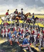 Gouache Paintings - The Duke of Wellington by Ron Embleton