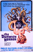 1970s Poster Art Photos - The Dunwich Horror, 1970 by Everett