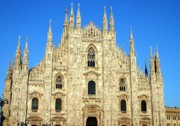 Old Milano Photos - The Duomo Milans cathedral by Giancarlo Liguori