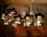 Beer Mixed Media - The Dutch Masters by Anthony Falbo